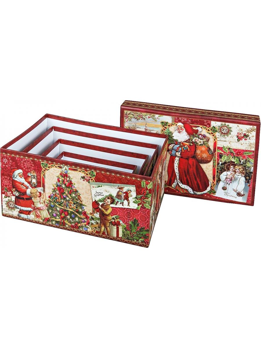 Коробка прямоугольная подарочная