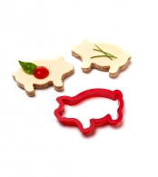 Форма для бутербродов party animals свинья