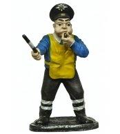 Фигура садовая Полицейский со свистком