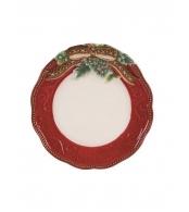 Тарелка малая Золотое рождество, 22 см