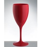 Бокал для вина Vino РС бордовый, объем 340 мл