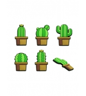 Кнопки канцелярские Cactus (5 шт)