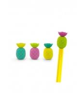 Ластики на карандаши Totally Tropical Pineapple (10 шт)