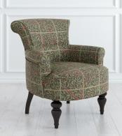 Кресло Перфетто Микровельвет, дерево Зеленый M11-B-0386