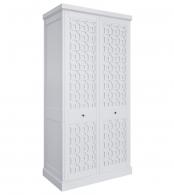 Шкаф 2 двери Бук, элементы МДФ Серо-бежевый MA121H-K04