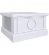 Столик квадратный Бук, элементы МДФ SA113-K00