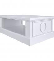 Столик прямоугольный Бук, элементы МДФ SA151-K00