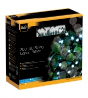Гирлянда уличная string lights (200 led-ламп), белый свет