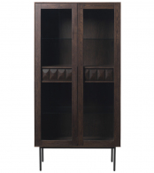 Шкаф для посуды unique furniture, latina, 94х45х185 см